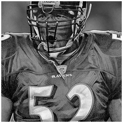 Ray Lewis Drawings Comments