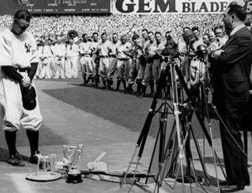 "Lou Gehrig ""The Luckiest Man"""