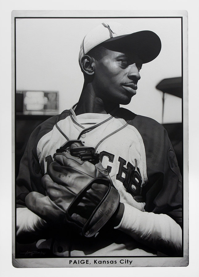Satchel Paige Original Painting