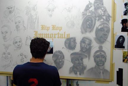 Hip Hop Immortals Painting