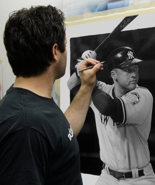 Jeter Painting