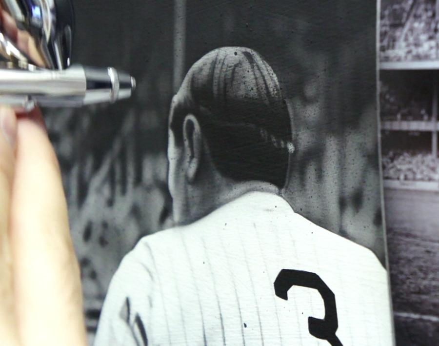 Babe Ruth Up Close
