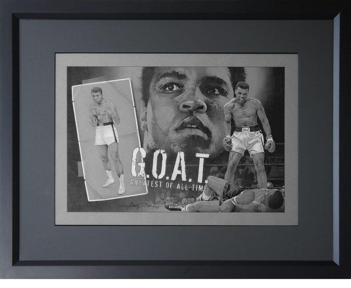 Muhammad Ali - G.O.A.T.