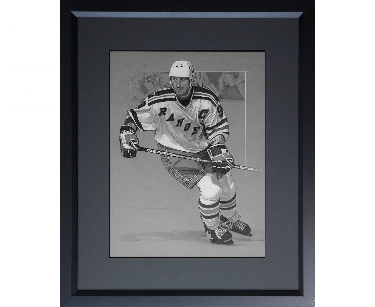 Wayne Gretzky Drawing