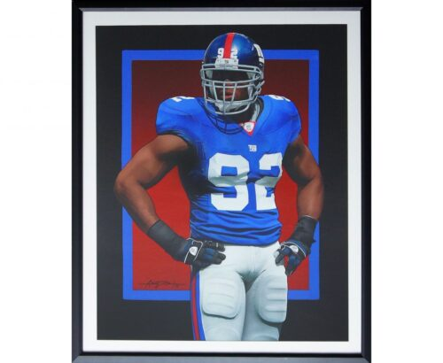Michael Strahan Painting