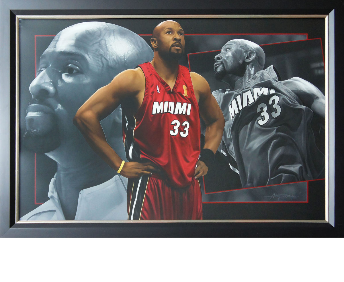 Alonzo Mourning Painting