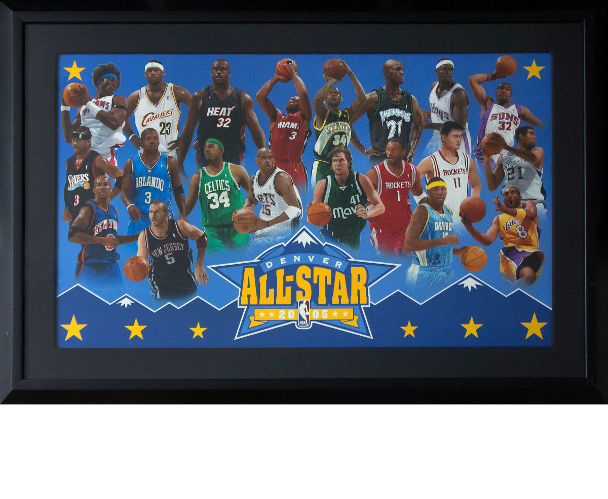 NBA All Star Painting