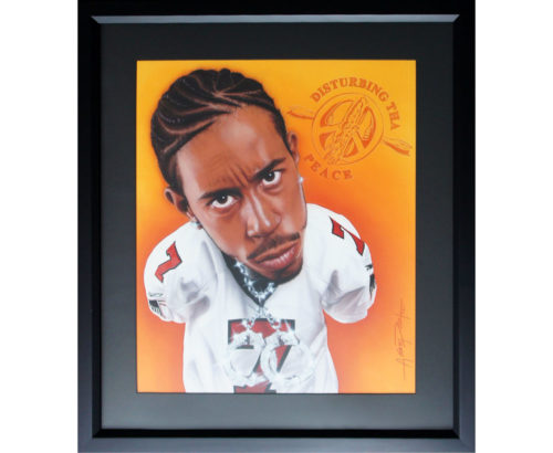 Ludacris Disturbing Tha Peace Painting