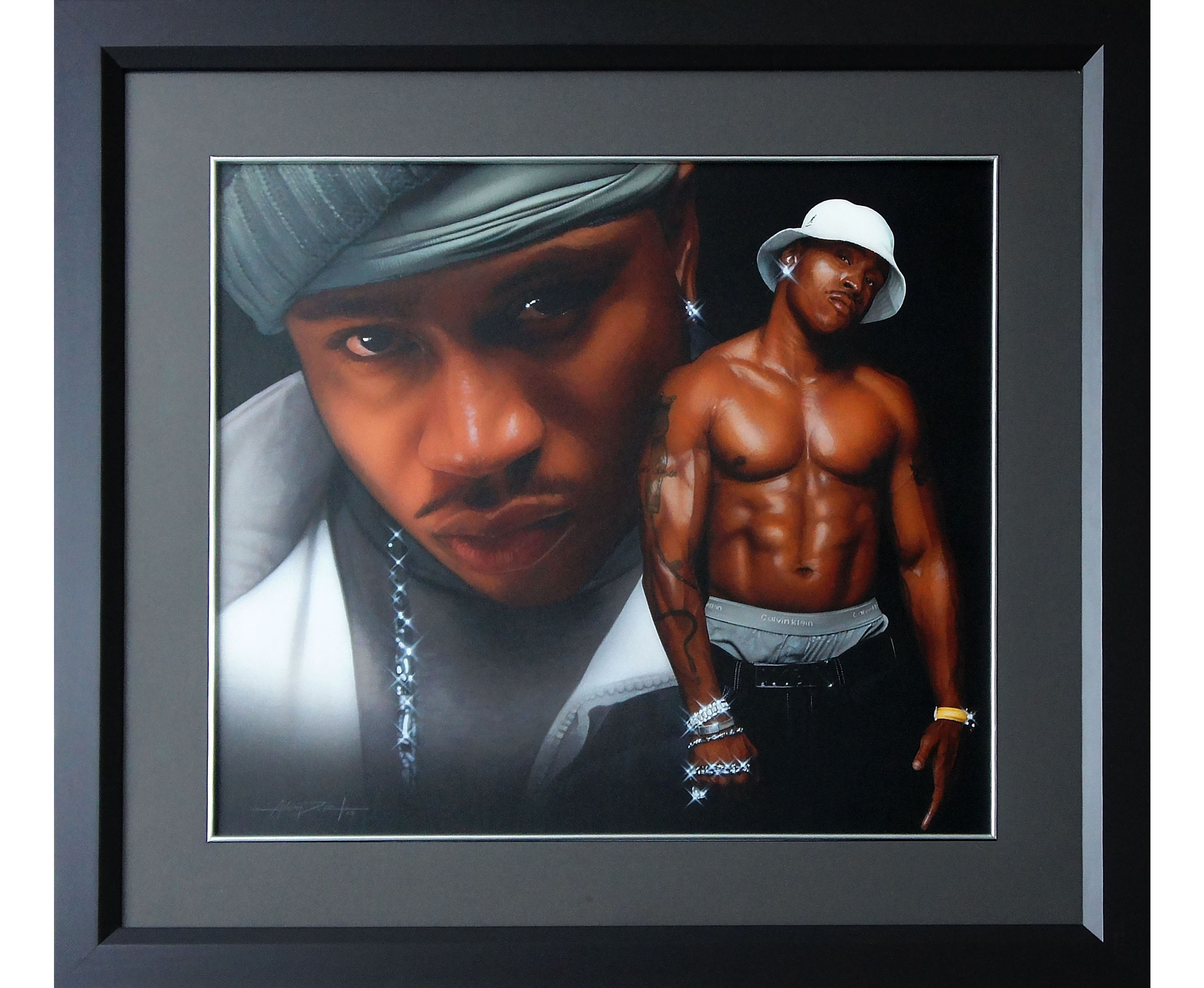 LL Cool J Painting
