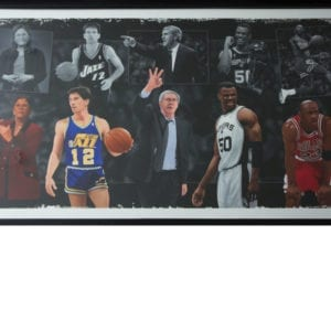 Basketball Hall of Fame Framed Painting