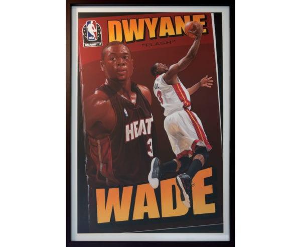 Dwyane Wade Framed