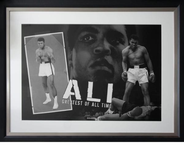 Muhammad Ali - Greatest of All Time Framed