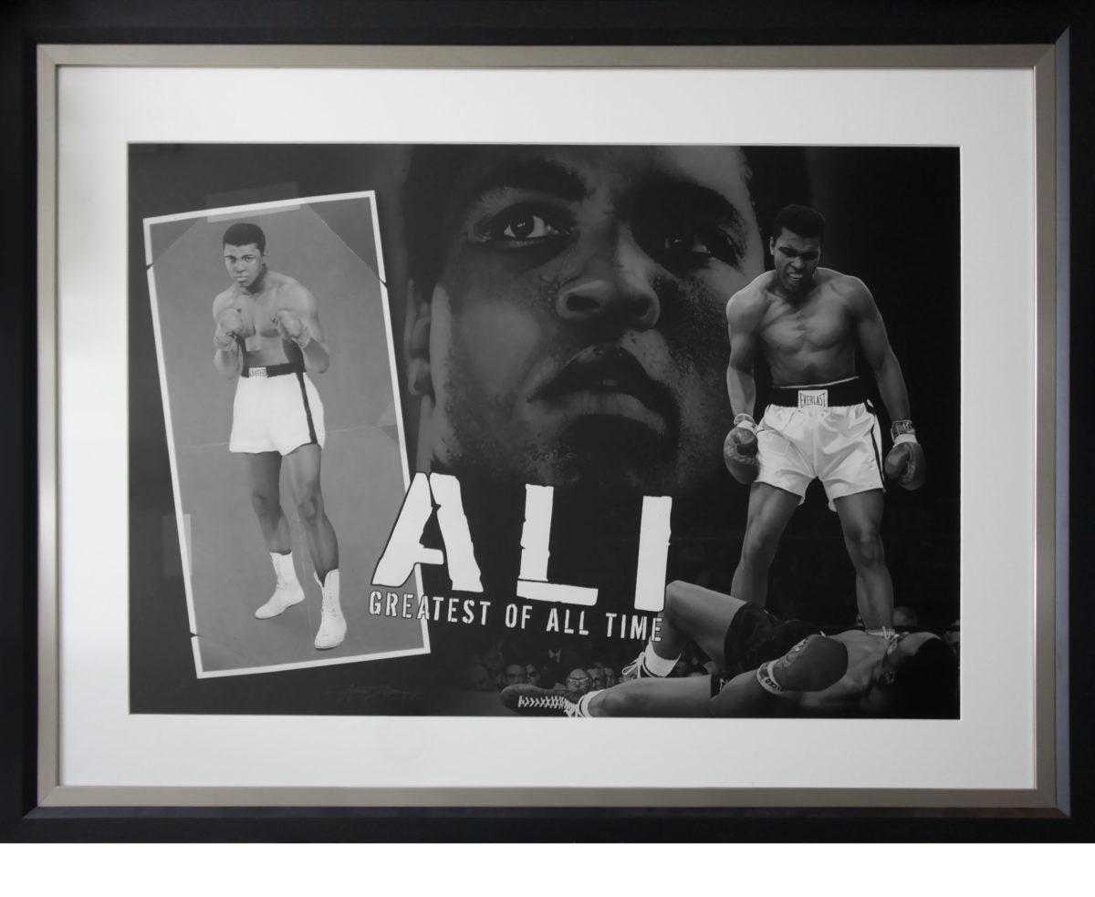 Muhammad Ali - Greatest of All Time Framed